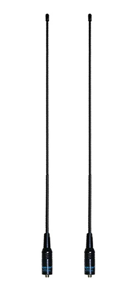2 Peças Sma- Feminino Antena Dual Banda Vhf / Uhf 144 Mhz /