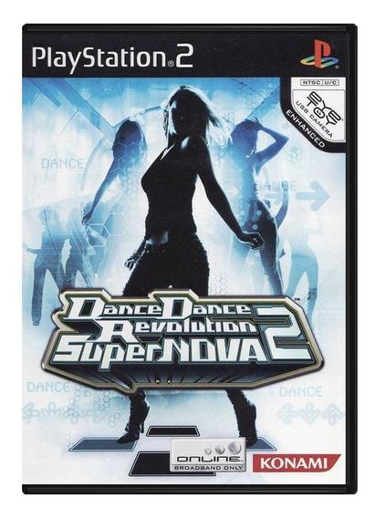 Dance Dance Revolution Supernova 2 Ps2 Mídia Física