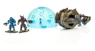 Halo Mega Bloks Brute Chopper Raid (221 Pcs) Nuevo