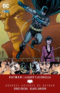 Ecc España Batman De Greg Rucka - La Muerte Y Las Doncellas