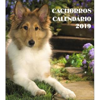 Calendário De Mesa Modelo Cd Kapos 2019 Cachorros