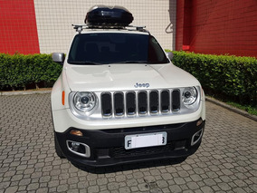 Jeep Renegade 1.8 Flex Aut. 5p Branco