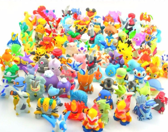 10 Miniaturas Pokemons E 1 Pokebola Com Card