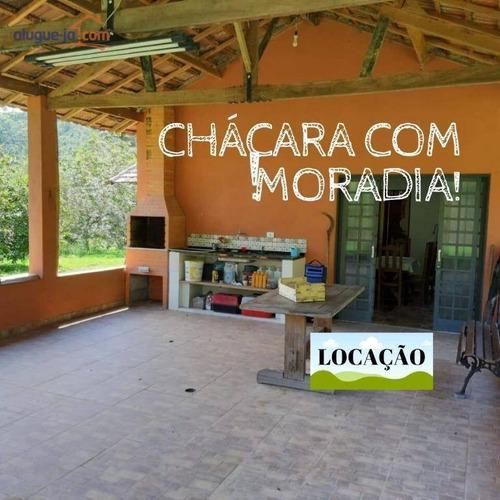 Imagem 1 de 30 de Chácara Com 2 Dormitórios Para Alugar, 16000 M² Por R$ 2.500,00/mês - Souzas - Monteiro Lobato/sp - Ch0145