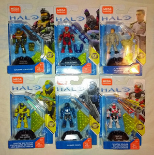 Halo Mega Construx Heroes Serie 9 Completa Envío Gratis