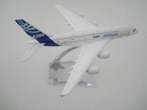 Airbus A380 Avião Miniatura