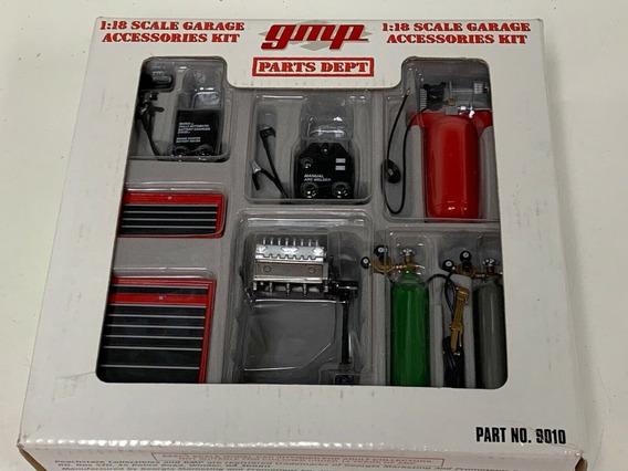 Miniatura Oficina Diorama Garage Acessórios Gmp 1/18