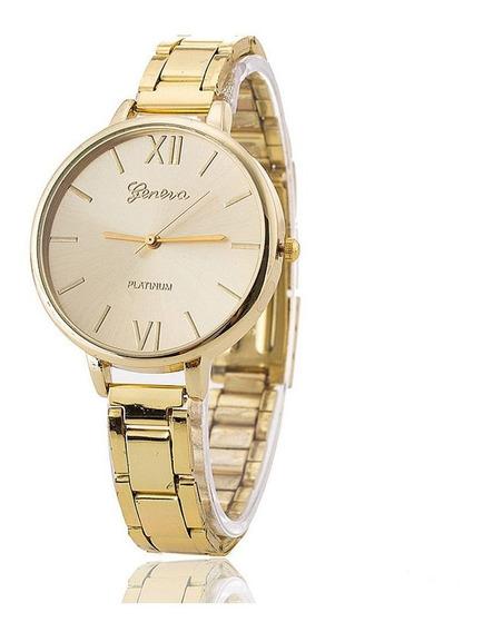 Relógios Femininos C/ Nota Fiscal 2845 Dourado Prata Rosê