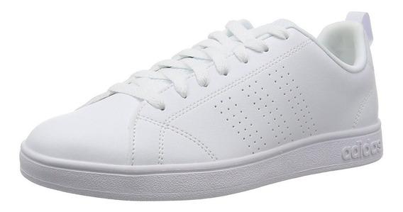 Tenis adidas Advantage Clean Negro / Blanco Niños Jr