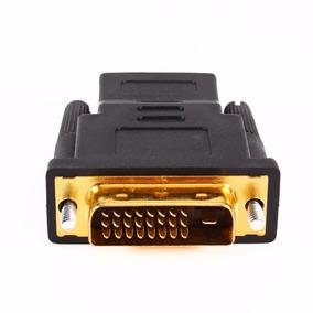 Conector Adaptador Dvi X Hdmi Fêmea 24+1 Banhado