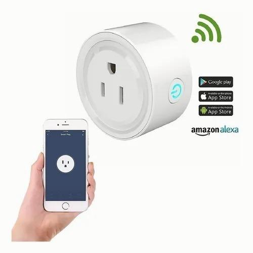 Enchufe Inteligente Wifi Smart Plug Alexa Home Socket