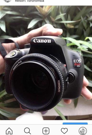 Câmera Profissional Cânon T5 + Equipamentos