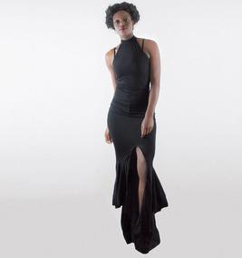 a97494bf3 Vestido De Noche Negro Corte Sirena - Vestidos en Mercado Libre México