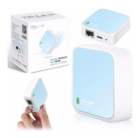 Nano Router Inalámbrico Tp-link Tl-wr702n Wifi N 150mbps Liq