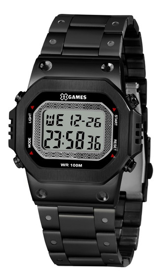 Relógio X-games Masculino Digital Xgnsd001 Bxpx Preto Aço