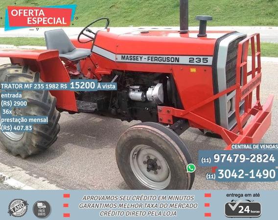 Tirador Mf 235 1982 Vermelho