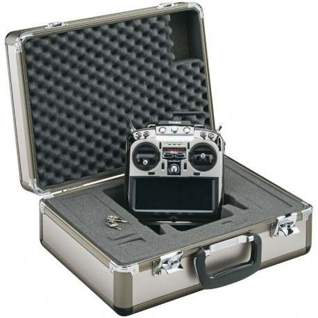 - Maleta Case Futaba Single Metal Radio Case 18mz Futp1019