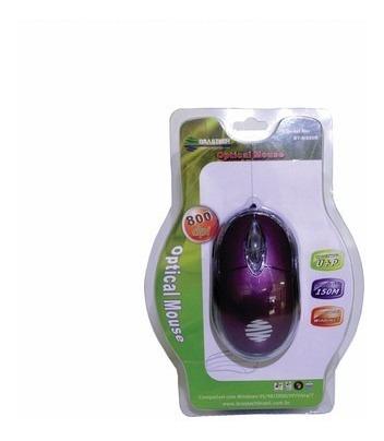 Kit Com 10 Mouses Brastech Optical Usb
