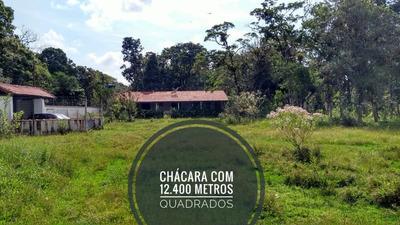 Chácara Com 12.400 Metros No Gaivota Em Itanhaém Litoral Sp