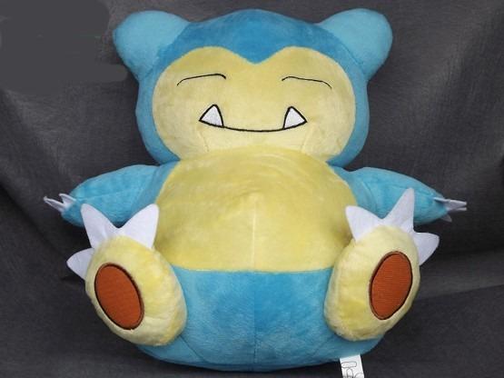 Pelúcia Pokemon Snorlax Incriveis 30cm! Pronta Entrega!