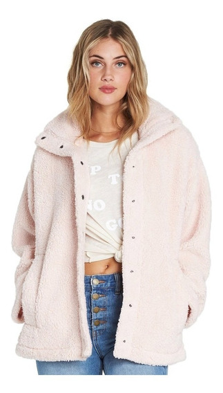 Campera Billabong Cozy Days Blush Mujer J604sbco