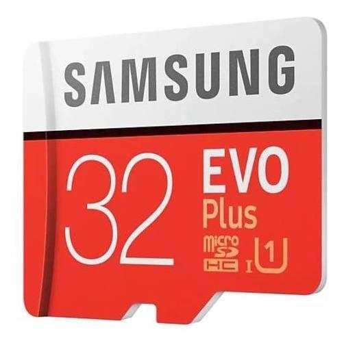 Cartão Micro Sd Samsung Evo Plus 32gb Classe10 95mb/s U1
