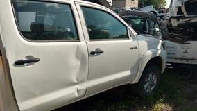 Toyota Hilux Lujo 2016 , 2013 , 2012 Accidentado X Partes
