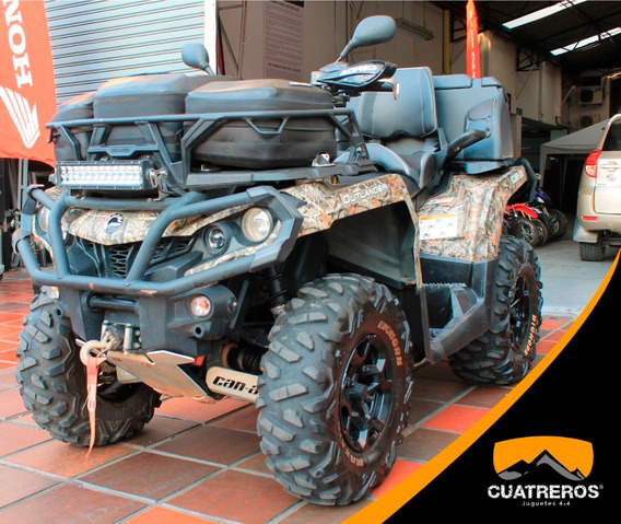 Can Am Outlander 800 Max Xt 2014 Camuflado Verde