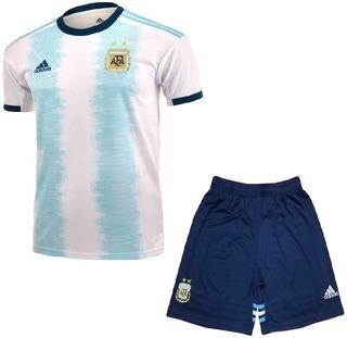 Camisa Argentina Infantil 19/20 - Pronta Entrega