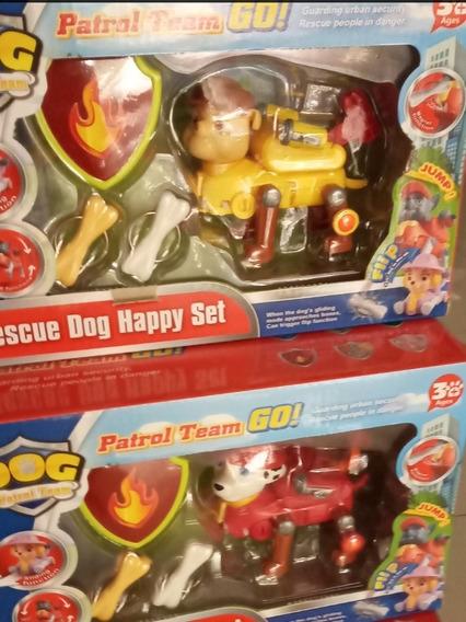 Paw Patrol Set Figura Cachorros Juguetes Niños