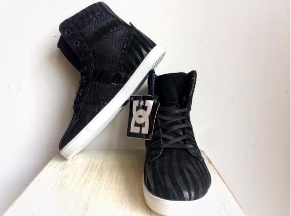 Zapatillas Botitas Dc Original Negras