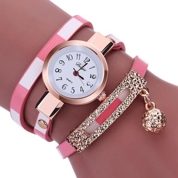 Relógio De Quartzo Luxo, Moda Nova Mulher Pulso