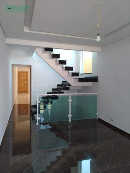 Sobrado Com 3 Dormitórios À Venda, 168 M² Por R$ 600.000 - Jardim Paraventi - Guarulhos/sp - So1806