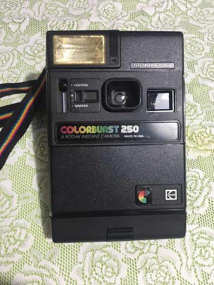 Câmera Fotográfica Antiga Kodak Instantânea