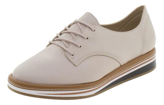 Sapato Feminino Oxford Beira Rio - 4235101 Natural