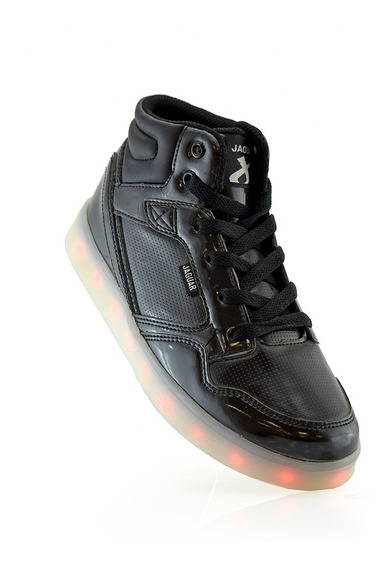 Zapatillas Botita Envio 4011-10 Recargables Jaguar Luminares