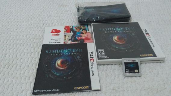 Resident Evil Revelations + Case Limitado - Nintendo 3ds