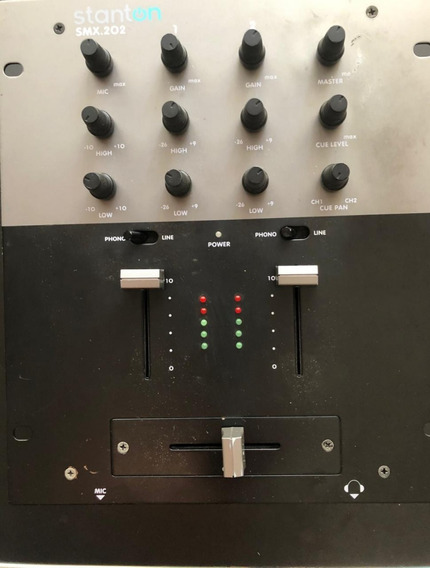Mixer Stanton Smx 202 Pre Amp Mixer