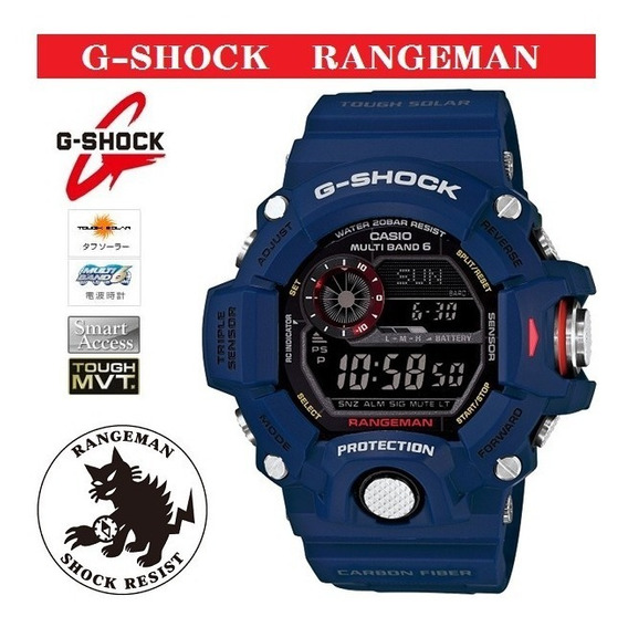 Casio G-shock Rangeman Gw9400-nv 100% D V C. Pronta Entrega