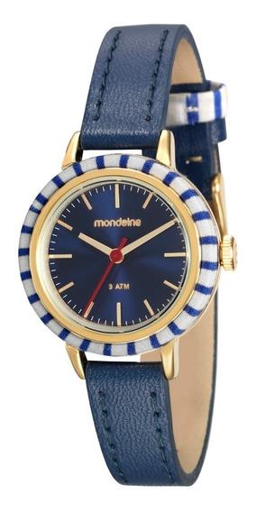Relógio Feminino Mondaine Couro 89004lpmvdh1 Garantia C/ Nfe