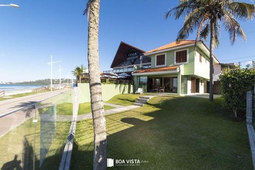 Imagem 1 de 27 de Casa Beira-mar, 4 Dormitórios, Bombas - Bombinhas/sc - Sc - Ca0002_boavis