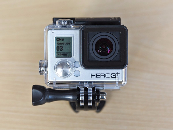 Gopro Hero 3+ Com Case