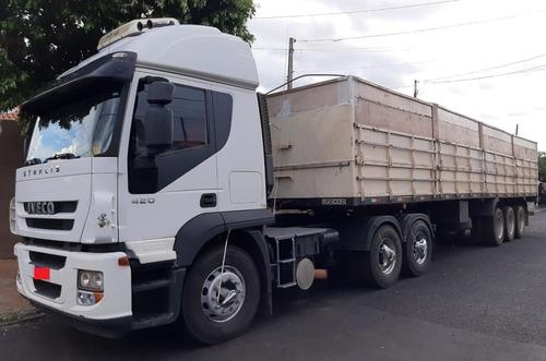 Iveco Stralis 420 2010 6x2 Branco (somente O Cavalo)