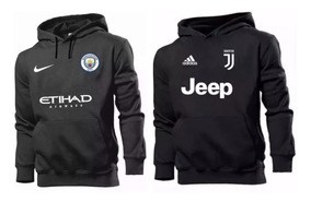 Kit 2 Blusas Moletom Manchester City + Juventus Time N1