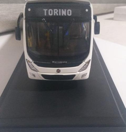 Imagem 1 de 8 de Miniatura Ônibus Marcopolo Torino