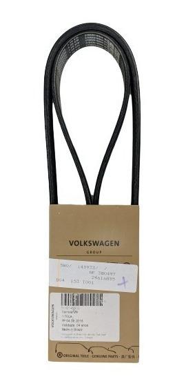Correia Alternador Gol At 1.0 Original Volkswagen 5w0145933