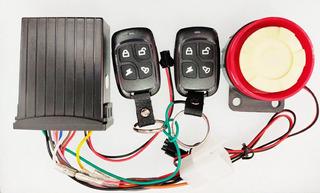 Alarma Para Moto Ultra Km1000 Pro 2 Controles Remotos