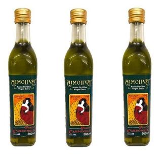 Aceite De Oliva Aimoliva Extra Virgen 500 Ml Pack 3 Unidades