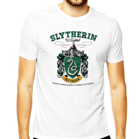 Camiseta Slytherin Luna Ronald Hermione Harry Potter Draco