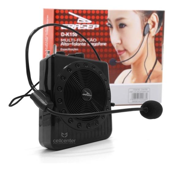 Radio Megafone Amplificador Multiuso Microfone Fm Usb Mp3